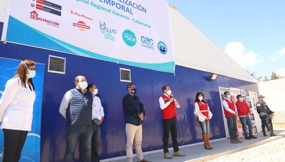 Cajamarca:  el establecimiento médico brindará una atención eficaz a pacientes COVID-19 con distintos niveles de afectación. (Foto: Difusión)