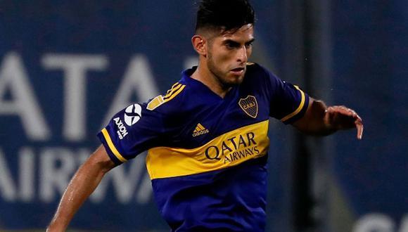 Carlos Zambrano consiguió su segundo título desde su llegada a Boca Juniors en enero del 2020. (Foto: Agencias)