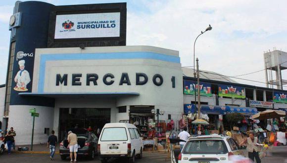 El mercado de Surquillo N°1 fue inaugurado en 1939 durante el gobierno de Óscar R. Benavides. (Foto: facebook.com/munidesurquillo)