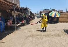Coronavirus en Perú: desinfectan mercados en Chimbote para evitar propagación del COVID-19