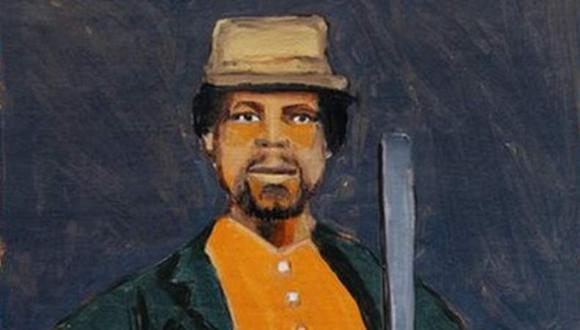 Una pintura en honor a Mundrucu realizada en 2020 por el artista Moisés Patrício para el libro Enciclopedia Negra. (MOISÉS PATRÍCIO/COMPANHIA DAS LETRAS)