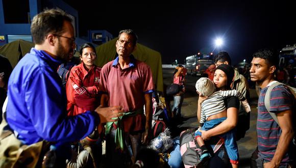 La visa, cuya solicitud costará 50 dólares, tendrá dos años de vigencia para los venezolanos. En la foto, migrantes venezolanos en Colombia. (Foto referencial: AFP)