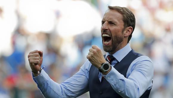 """""""El otro día tuvimos que buscar calidades. Hoy no me gustaron mucho los diez primeros minutos del partido. Es entendible"""", dijo Gareth Southgate en rueda de prensa. (Foto: AFP)"""