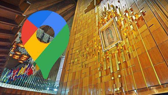 ¿Quieres visitar la Basílica de Guadalupe, pero sin salir de casa? Usa este truco de Google Maps. (Foto: Google)