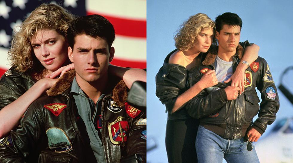 """En 1986, Tom Cruise y Kelly McGillis protagonizaron """"Top Gun"""", la historia de Maverick, el revbelde aviador de la Armada de Estados Unidos."""