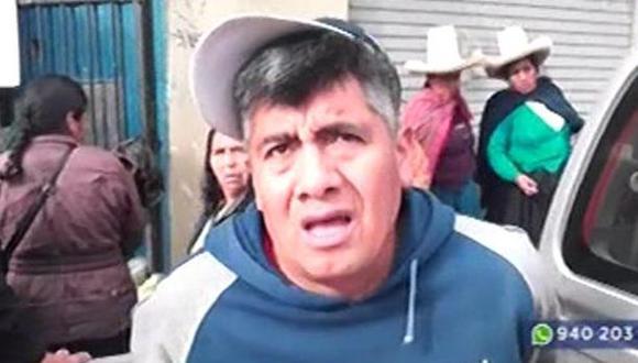 La denunciante mostró como prueba el propio celular del acusado. (Foto: Captura/Latina)