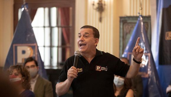 Daniel Urresti participó este martes en el debate de candidatos presidenciales, organizado El Comercio e IDEA Internacional. (Foto: Archivo de GEC)