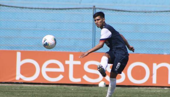 Jordan Guivin se formó en la San Martín y hace unos días se fue a Cienciano | Foto: USMP