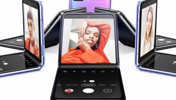 ¡Ya está aquí! Samsung ha revelado oficialmente su nuevo celular plegable estilo 'sapito': (Foto: Samsung)