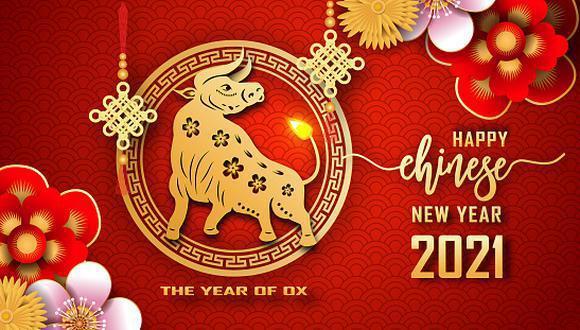Según el calendario lunar chino, el Año 2021 es el Año de Buey. (Foto: Twitter)
