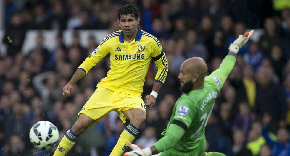 Costa se burló, peleó y anotó dos goles en triunfo de Chelsea - 11