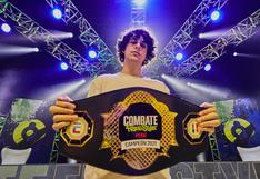 Jaze venció a Jota en la final y es el campeón de Combate Freestyle