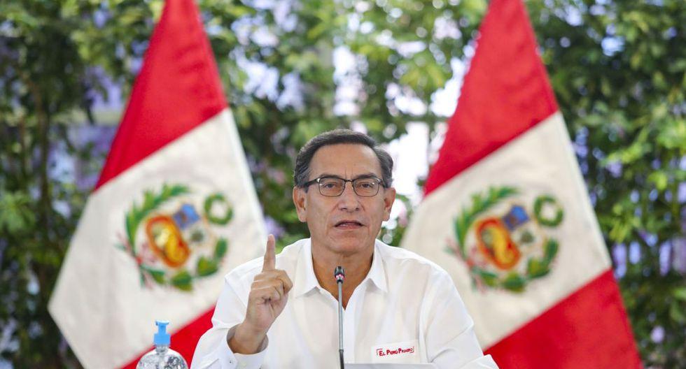 El presidente Martín Vizcarra reveló el nombre oficial del año 2020: Año de la Universalización de la Salud (Foto: Andina)