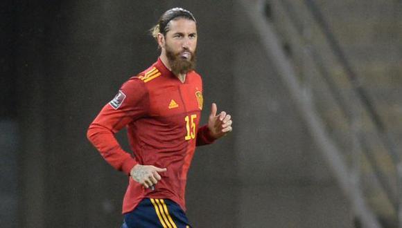 Sergio Ramos se pierde una gran cita tras cuatro Mundiales y tres Eurocopas. (Foto: AFP)