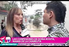 EBT: madre de Isabel Acevedo emitió inesperdo comentario sobre Pamela Franco