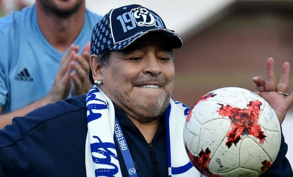 Se sospecha que esta decisión obedece al paso de Maradona como jugador de Newell's, clásico rival de Central en la ciudad de Rosario. (Foto: AFP)