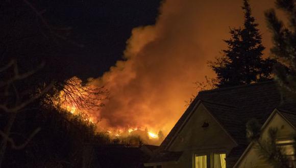 Estados Unidos: Alerta en Colorado por incendio forestal