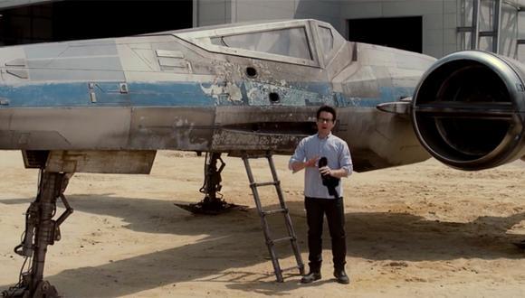 """Star Wars"": J.J. Abrams reveló cómo lucirá el ""X-Wing"""