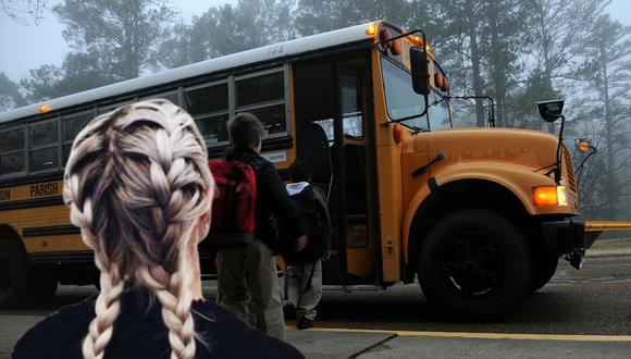 Una niña aprendió a cuidar debidamente de su cabello gracias al gesto de la amable señora que conducía el autobús de su escuela. (Foto: Pixabay/Referencial)