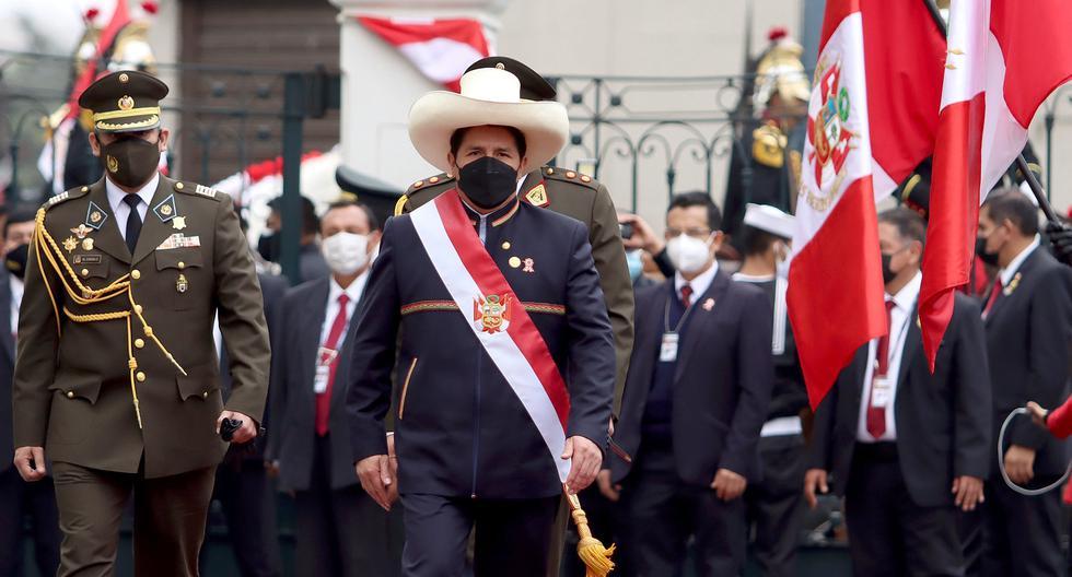 En algunos temas, Castillo ratificó anuncios ya hechos. En otro grupo de propuestas, moderó sus expectativas o las modificó.. (Foto: Presidencia)