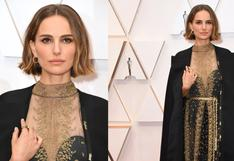 Natalie Portman cumple 39 años: el día que protestó sobre la alfombra roja de los Oscar   FOTOS