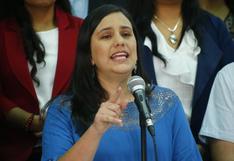 Verónika Mendoza presentó a los candidatos al Congreso de Juntos por el Perú en Lima