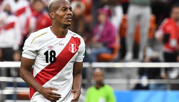 André Carrillo, el mejor jugador de Perú en el Mundial, estaría cerca de llegar al Al Hilal de Arabia Saudí. (Foto: AFP)
