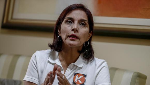 Patricia Juárez, ex teniente alcaldesa de Lima, obtuvo 31,185 votos preferenciales en la elección al Parlamento. Ella accederá al nuevo Congreso bajo las filas de Fuerza Popular. (Foto: César Campos |  El Comercio)