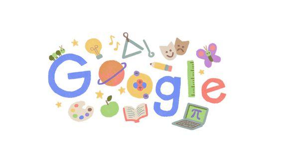 Google ha cambiado el diseño de su motor de búsqueda para homenajear a los maestros peruanos. (Captura/Google)