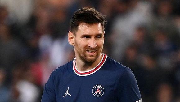 Lionel Messi presenta síntomas de una contusión osea en la rodilla izquierda.. (Foto: AFP)