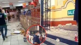 Piura: Fuerte sismo provoca daños materiales y alarma a residentes