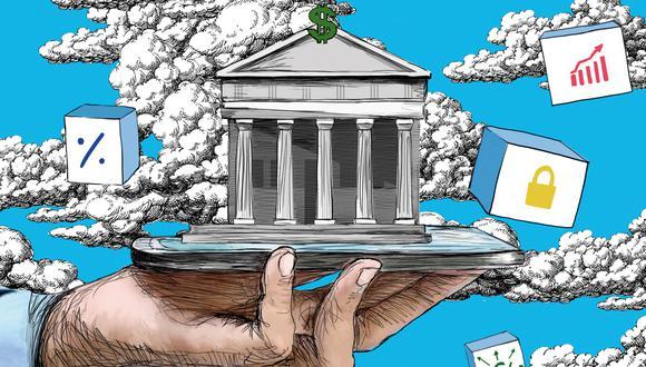 En tres meses se obtuvo un crecimiento que las plataformas online de los bancos no lograron conseguir en 10 años. (Ilustración: Día 1)