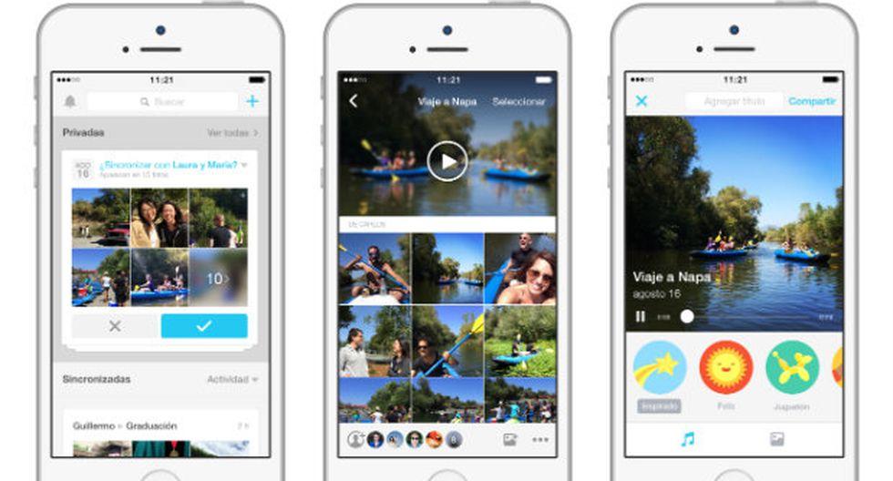 Facebook lanza en Perú la app 'Moments' para compartir fotos - 1