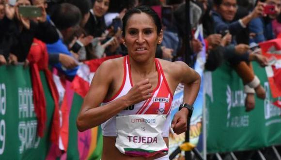 Gladys Tejeda vuelve a las competencias tras pandemia por COVID-19 (Foto: AFP)