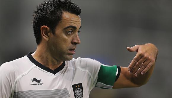 Xavi Hernández. (Foto. AFP)