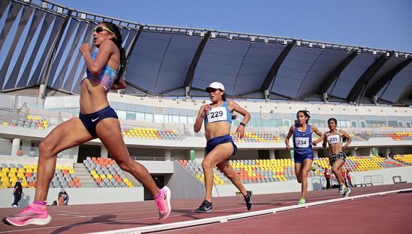 El Control estuvo engalanado con la presencia de la clasificada a los próximos Juegos Olímpicos de Tokio: Gladys Tejeda. (Foto: Proyecto Legado)
