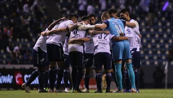 El curioso episodio tuvo lugar en el partido que jugaron Puebla y Pachuca el último fin de semana | Foto: @clubpuebla