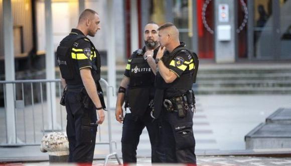 Holanda: Ataque con cuchillo en estación de trenes de Ámsterdam deja dos heridos. (Foto: Twitter)