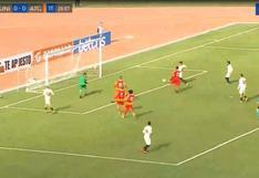 Universitario vs. Atlético Grau: Jonathan Dos Santos y la gran definición para el 1-0 de los merengues | VIDEO