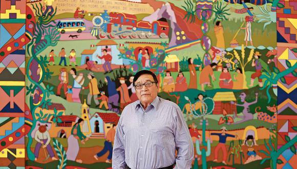 Óscar Colchado recibió el Premio Internacional de Cuentos Juan Rulfo en el 2002.