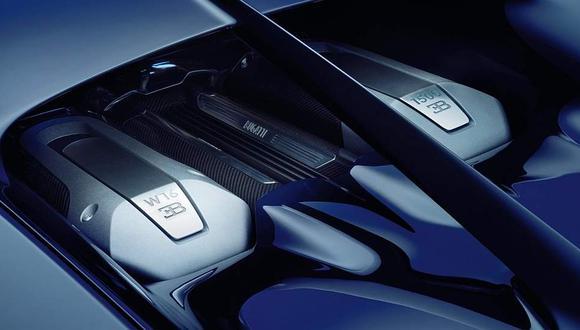Los 1.500 HP del Chiron son superiores a los del Veyron. (Difusión)