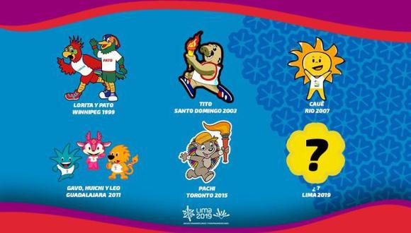 Lima 2019: elección de mascota será por medio de un concurso