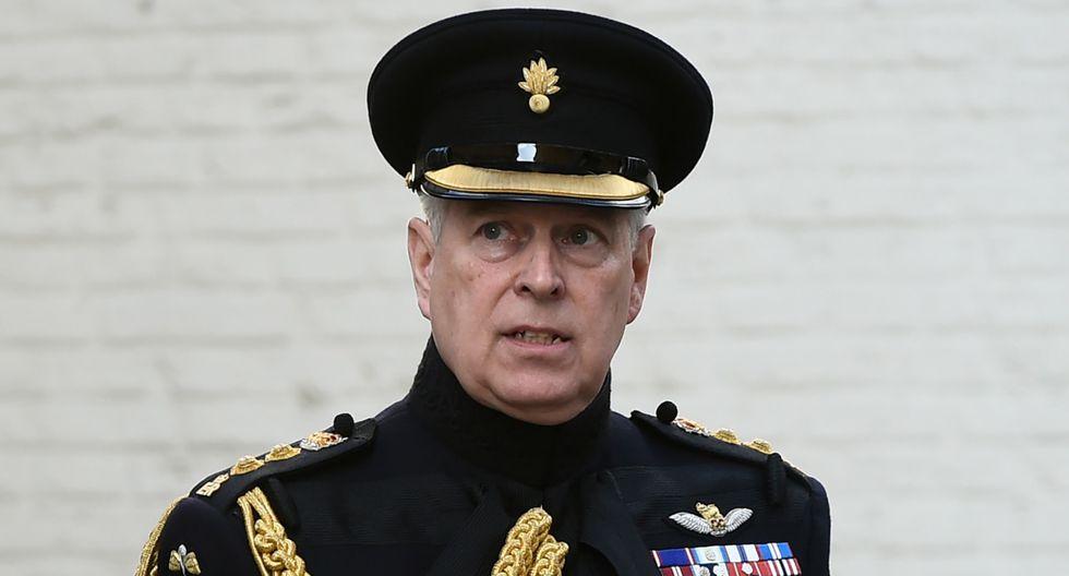 En esta del 7 de setiembre del 2019, el príncipe Andrés de Gran Bretaña, duque de York, asiste a una ceremonia en conmemoración del 75 aniversario de la liberación de Brujas (Bélgica). (JOHN THYS / AFP).