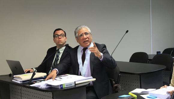 El abogado de Gonzalo Monteverde, José Luis Francia, aseguró que no hubo contratos ficticios con Odebrecht sino servicios reales. (Foto: Difusión)