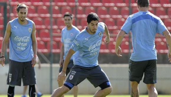 Luis Suárez se recuperó para choque contra Italia del martes