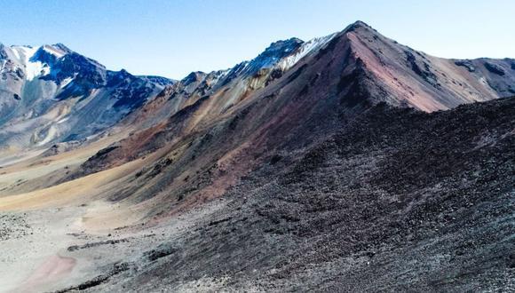 Arequipa atesora una montaña de colores en las faldas del volcán Chachani.(Foto: Andina)