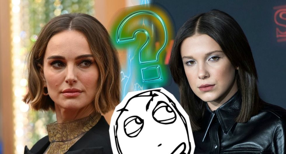 Usuarios de Instagram resaltan el gran parecido entre Natalie Portman y Millie Bobby Brown. (Composición Mag)