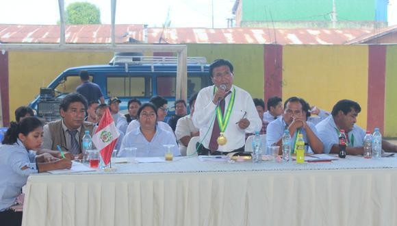 Otazú Huaccoto había sido elegido por el movimiento Fuerza por Madre de Dios para el periodo 2019-2022. (Foto: Manuel Calloquispe)