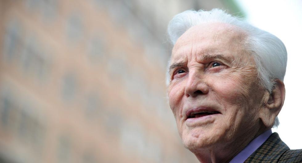 Kirk Douglas nació el 9 de diciembre de 1916. (AFP)