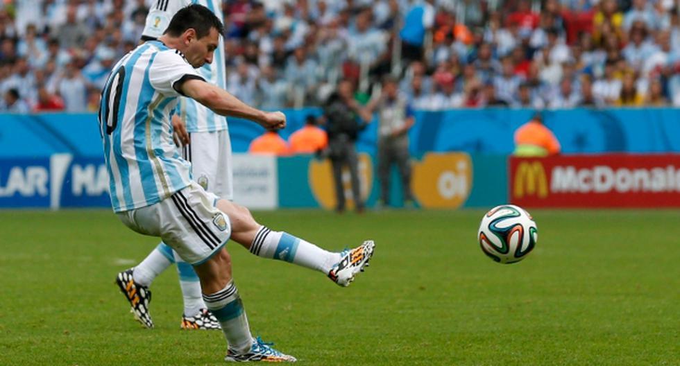 Messi anotó golazo de tiro libre ante Nigeria - 2
